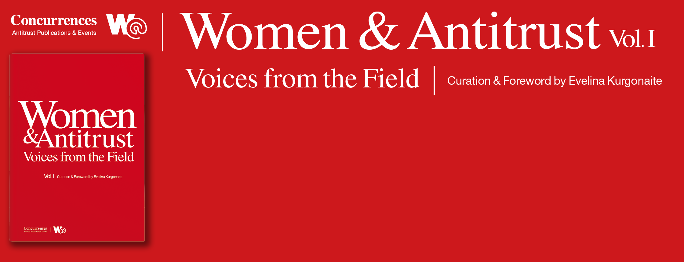 "Book ""Women & Antitrust: Voices from the Field"""